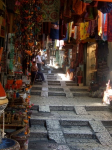 The market inside the Muslim Quarters