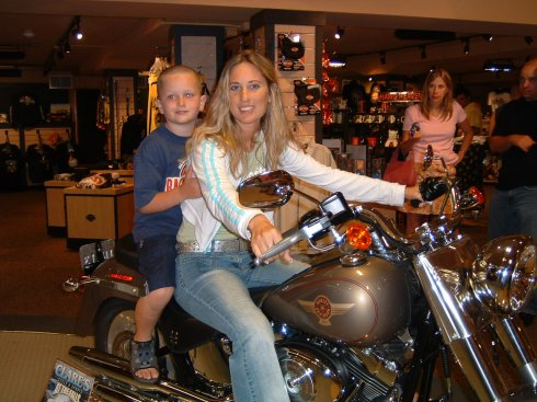 On our dream Harley